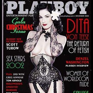 Unopened playboy magazine December 2002